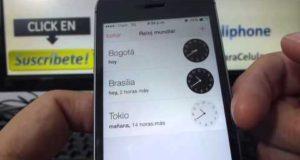Como saber la hora exacta mundial en mi iPhone 5S