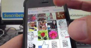 Como se pasan las fotos de carrete a otros albums iPhone 5S