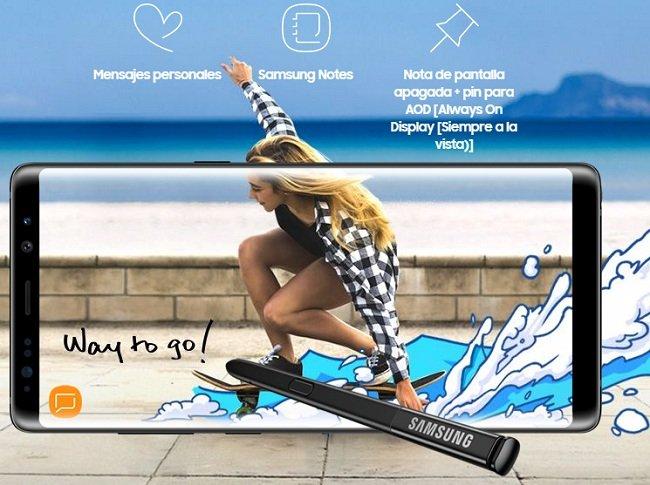 Samsung Galaxy Note 8 Ficha Técnica